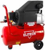 Масляный компрессор Elitech КПМ 200/24